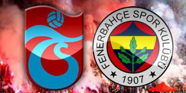 Trabzonspor – Fenerbahçe maçı özet ve golleri izle!