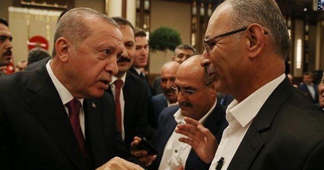 Cumhurbaşkanı Erdoğan muhtarı böyle yakaladı!