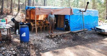 8 ay dağda yaşayıp günde 300 lira kazanıyorlar