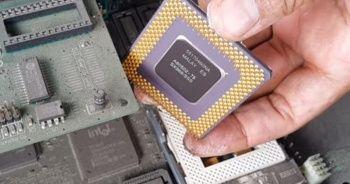Bilgisayar parçalarından altın çıkardı! İnanamayacaksınız...