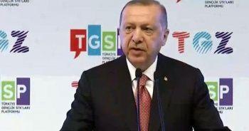 Cumhurbaşkanı Erdoğan: Müjdeyi gençlerimizle paylaşmış olalım
