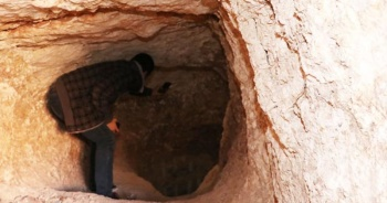 5 kişi mağarada suçüstü yakalandı