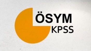 KPSS ORTA Öğretim LİSE Sonuçları sorgulama ekranı