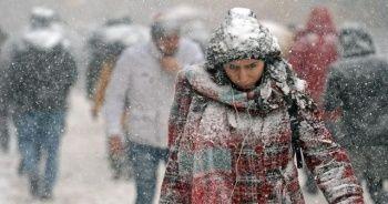 Meteoroloji'den son dakika duyurusu: Kar geliyor!