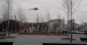 Rusya bu görüntüleri konuşuyor: Kremlin Sarayı üzerinde...