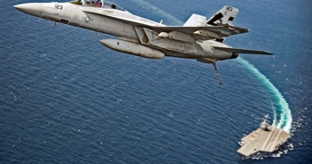 Son dakika... ABD savaş uçağı düştü