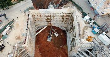Son dakika! İstanbul Ümraniye'de metro inşaat sahasında göçük!
