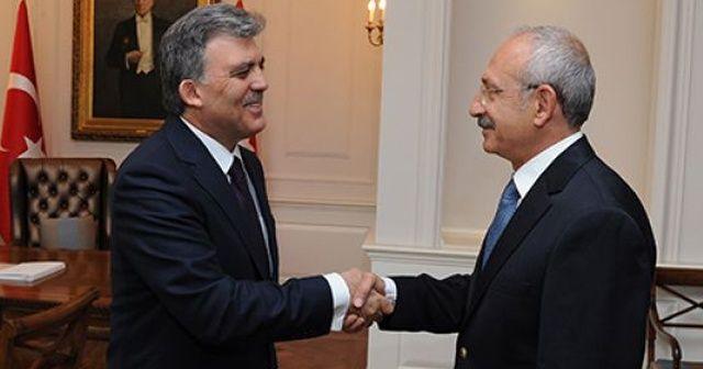 Abdullah Gül'ün ofisine misafir akını