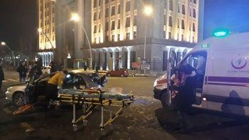 Ankara'da feci kaza: 5 yaralı