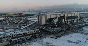 Ankara'da tren kazası! Olay yeri fotoğrafları