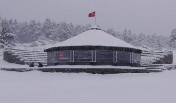 Kar yağdı, kartpostallık görüntüler ortaya çıktı