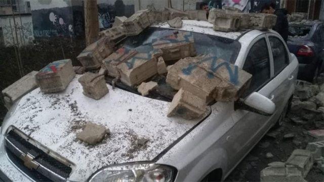 Araçlarını bu halde görünce şoke oldular