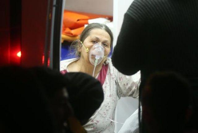 Ankara'da yangın dehşeti