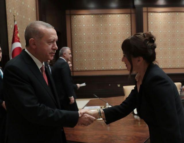 Cumhurbaşkanı Erdoğan, sinema sektörü temsilcilerini kabul etti