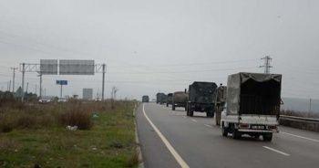 Suriye sınırına askeri sevkiyattan yeni görüntüler