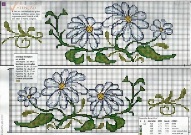 Kanaviçe havlu işleme modelleri ve şablonları | Havlu kanaviçe örnekleri