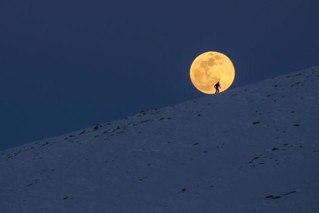 Süper Ay Türkiye'de böyle görüntülendi