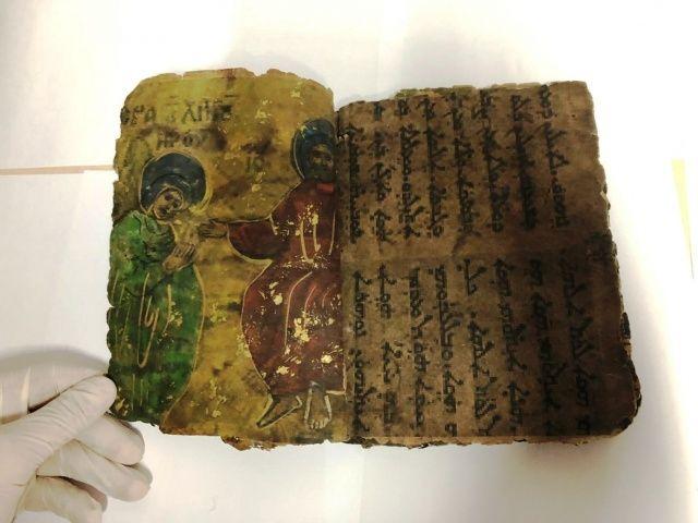 Diyarbakır'da yakalandı! Tam 800 yıllık İbranice yazılı dini motifli kitap ele geçirildi
