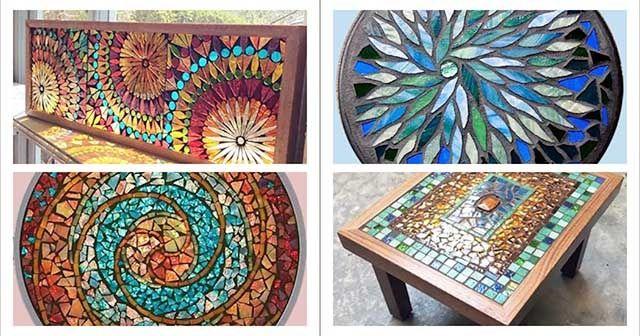 Kolay Mozaik Çalışmaları Örnekleri