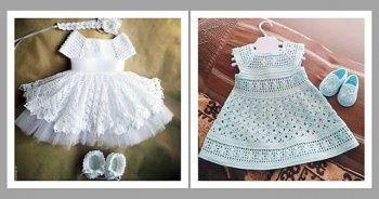 Bebek Örgü Elbise Modelleri Anlatımlı Ve Resimli 2019