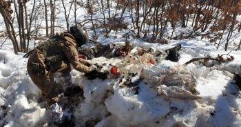 Bestler Dereler bölgesinde PKK'nın 6 sığınağı imha edildi
