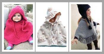 Çocuk Bebek Panço Modelleri Çocuk Pançosu 2019