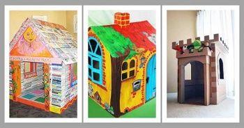 Karton Kutudan Ev Yapımı Karton Kutudan Nasıl Ev Yapılır?