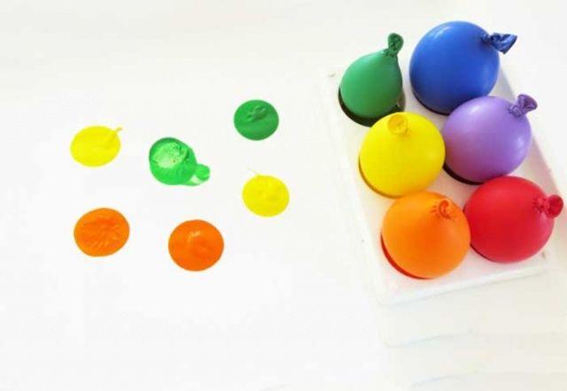 Balonlarla Boyama 9