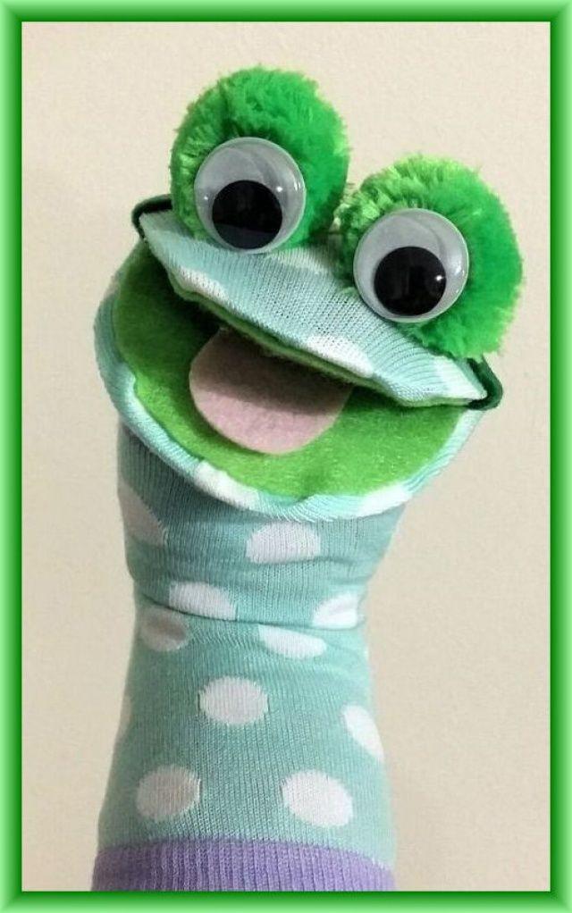 Çorap Kukla Malzemeleri Örnekleri Resimli Anlatım