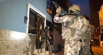 Bursa'da Bin polisle şafak operasyonu çok sayıda gözaltı