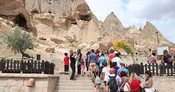 Selime Katedrali'ne turistlerden yoğun ilgi