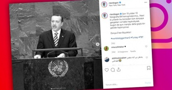 Cumhurbaşkanı Erdoğan'dan BM paylaşımı
