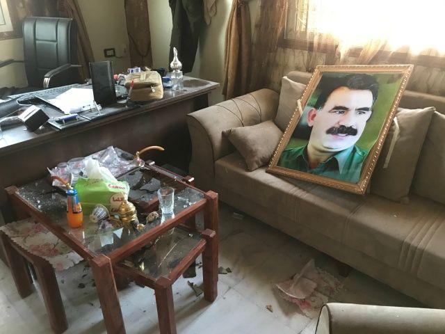 YPG'li teröristlerin DEAŞ'lıları serbest bıraktığı hapishanenin görüntüleri ortaya çıktı