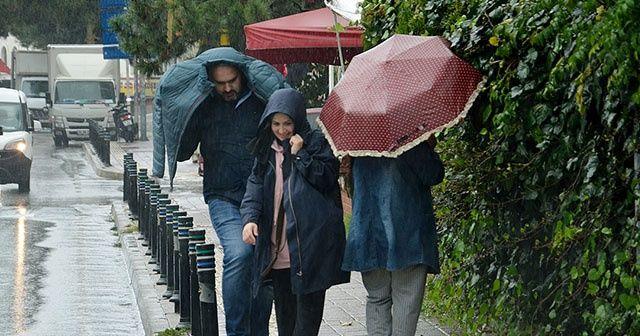 İstanbullular yağmura hazırlıksız yakalandı!