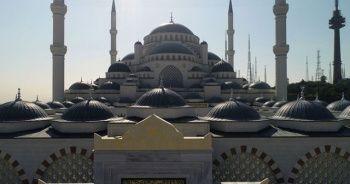 Büyük Çamlıca Camisi havadan görüntülendi