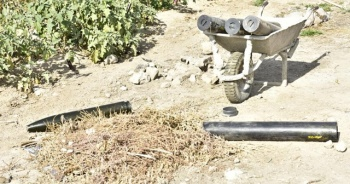 Resülayn'da ele geçirilen Katyuşa roketleri etkisiz hale getirildi
