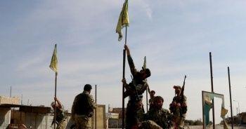 Suriye Milli Ordusu, YPG/PKK terör örgütünün sözde bayraklarını indirdi