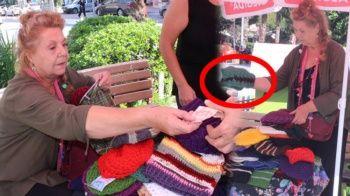 Ünlü oyuncu pazarda böyle bere satıyor