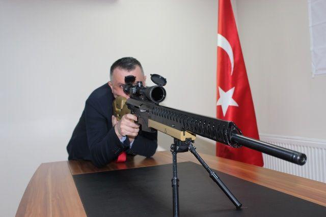 Yüzde yüz yerli ve milli 'sniper' üretildi