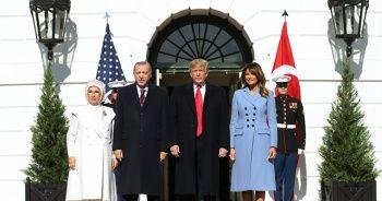 ABD Başkanı Trump, Cumhurbaşkanı Erdoğan'ı böyle karşıladı