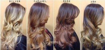 Saç renkleri bayan ombre