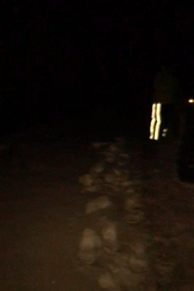 Uludağ'da kayıp iki dağcının ayak izlerinin bulunduğu anların görüntüsü ortaya çıktı