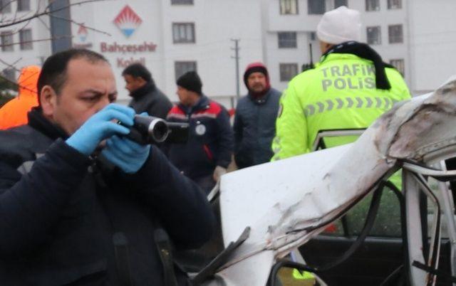 Kütahya'daki trafik kazasında acı tesadüf!