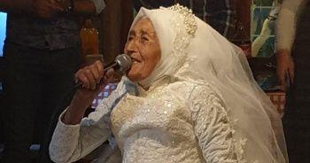 85 yaşında muradına erdi