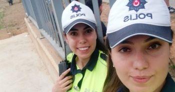 Abla-kardeş aynı şehirde polis!