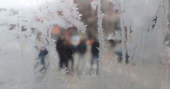 Erzurum'da soğuk hava