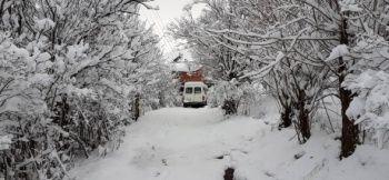 Kar yağdı! Kartpostallık görüntüler oluştu
