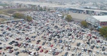 2020 model otomobillerin fiyatı uçtu, vatandaşlar 2. el oto pazarına akın etti