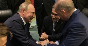 Cumhurbaşkanı Erdoğan, Libya Zirvesi'nde liderlerle görüştü