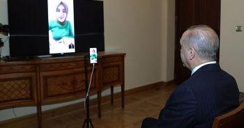Cumhurbaşkanı Erdoğan, Ümmü Gülsüm Genç'le görüştü